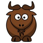 lemmling Cartoon gnu