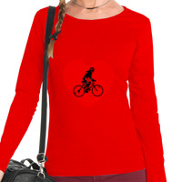Camiseta m/l Ciclista mujer