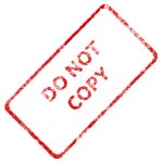 Merlin2525 Do Not Copy Business Stamp 2